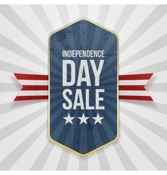 Independence day sale festive badge vector