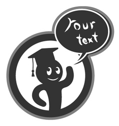 Academic symbol vector image vector image