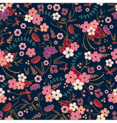 asian pattern vector image vector image