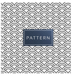 Fish scale pattern background image vector
