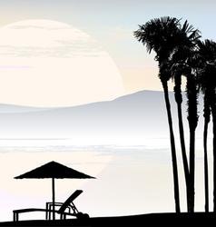 Resort vector image vector image