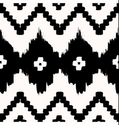 Seamless tribal pattern vector
