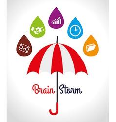 Umbrella design vector