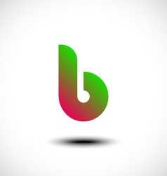 Letter b logo icon design template element vector