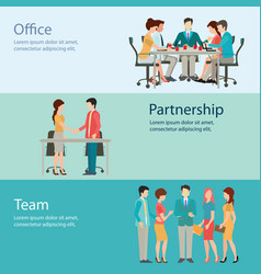 Office worker business people vector