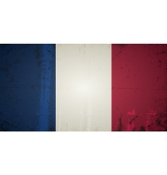 Grunge flags - france vector