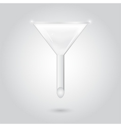 Chemical funnel vector