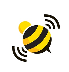 bee design vector image