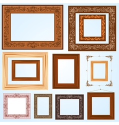 Handmade frame set3 vector