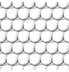 abstract geometric seamless pattern with dots vector image vector image
