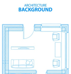 Architecture background vector image vector image