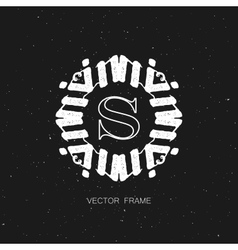 art-deco frame vector image vector image