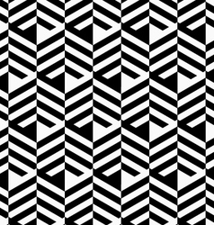 Black and white striped strips vector image