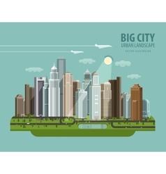 City town megapolis logo design template vector