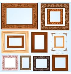 Handmade Frame set3 vector image