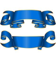 Ribbon 133 vector image vector image