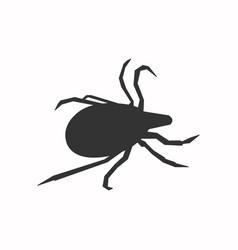 The mite icon vector