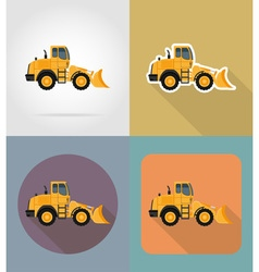 Transport flat icons 26 vector