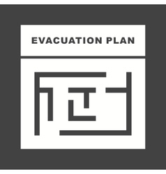 Evacuation plan vector