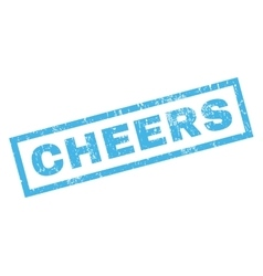 Cheers rubber stamp vector