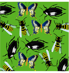 Background from insect vector