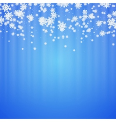 Christmas and new year blurry background vector