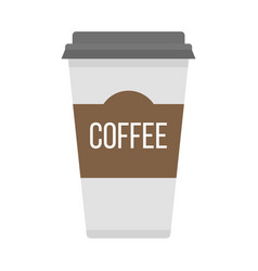 Coffe cup take away vector