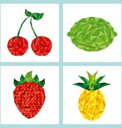 Delicious fruit vector