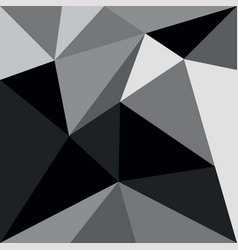 Grey and black triangle background or pattern vector