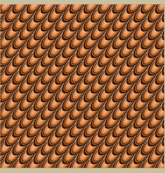 orange and brown abstract background vector image