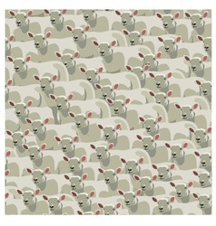 Seamless pattern all sheep vector