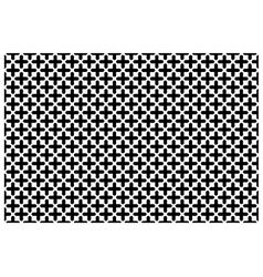 Cross pattern wallpaper vector image