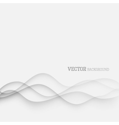 Elegant waves background vector image