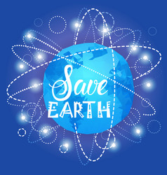 save earth world environment day ecology vector image vector image