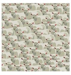 Seamless pattern all sheep vector image vector image