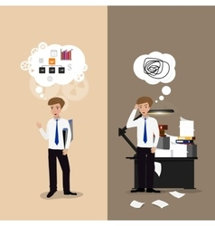 Good and bad working vector