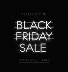 Black friday sale design template black friday vector