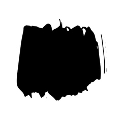 Grunge Brush Stroke set vector image
