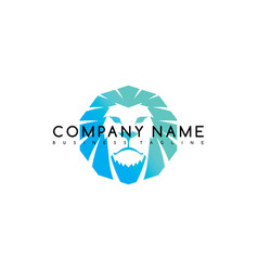 lion king brand template logo logotype art vector image