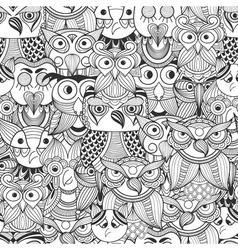 1607seam owl vector image