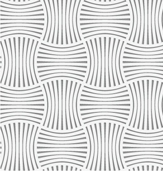 Perforated stripy grid vector image vector image