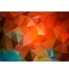 Colorful triangular background for business vector