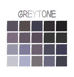 Greytone Color Tone without Name vector image