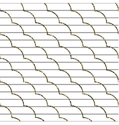 Abstract frill line diagonal pattern vector