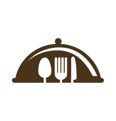 Fork knife spoon cutlery icon graphic vector