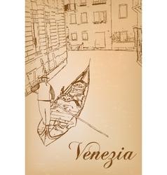 I love venice vector
