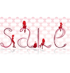 Sign Sales vector image