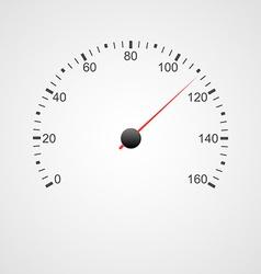 Speedometer design vector image