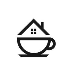 coffeehouse logo template vector image