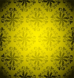 Golden wallpaper repeat vector